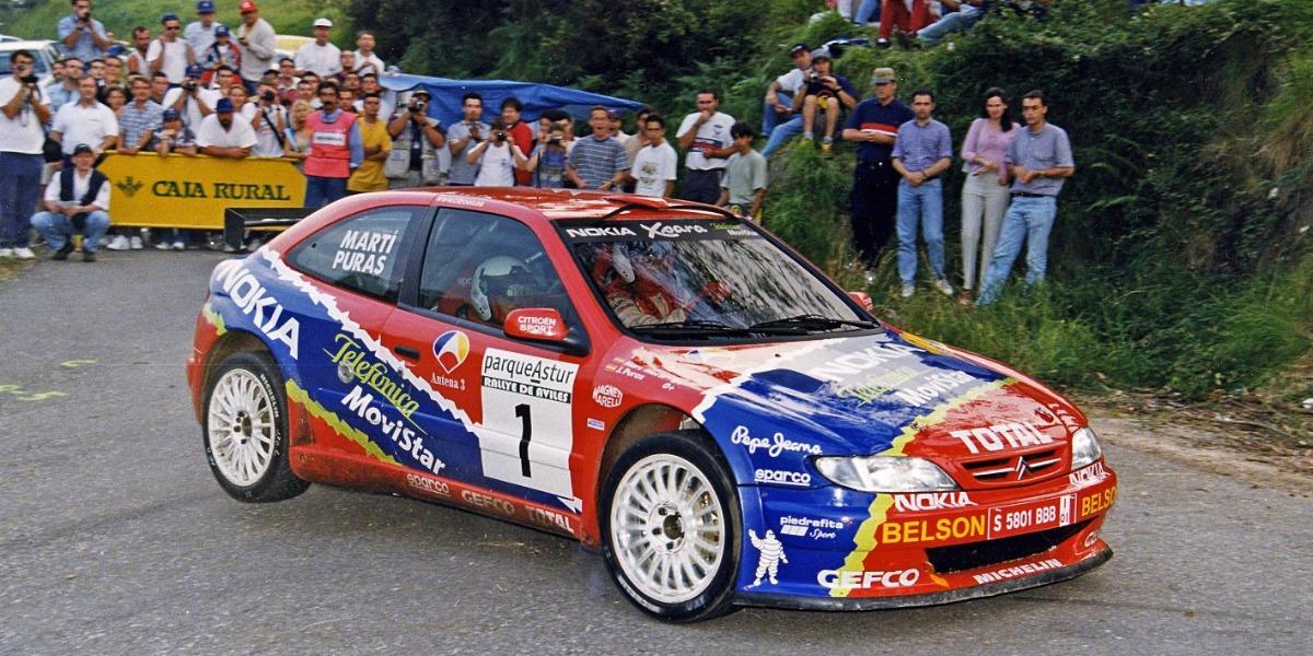 Chus Puras - 2000 Rallye de Aviles