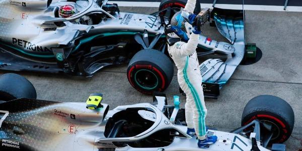 Valtteri Bottas se lleva el Gran Premio de Japón