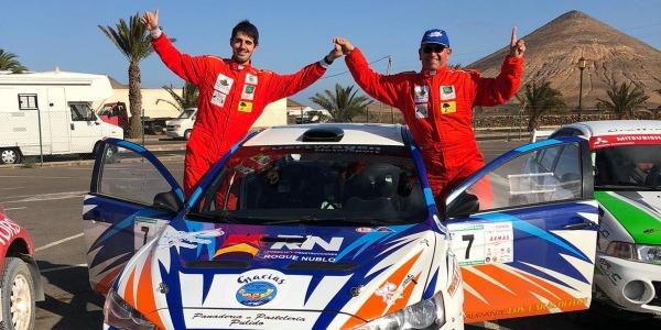 Juan Carlos Quintana logra la victoria del VII Slalom Naviera Armas
