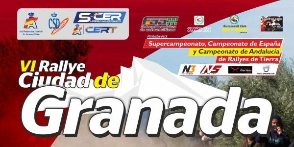Tramos, Horarios e Inscritos del Rallye Ciudad de Granada
