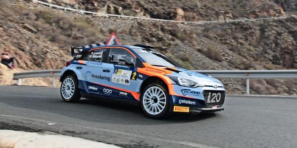 Yeray Lemes gana el Rallye de Maspalomas 2019