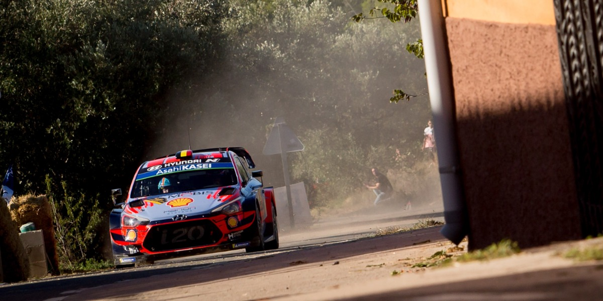 Thierry Neuville, vencedor del rally