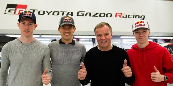 Ogier, Evans y Rovanpera con Toyota para el WRC 2020