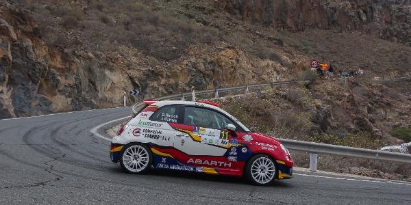 El equipo Abarth - Icamotor finaliza su temporada en Lanzarote