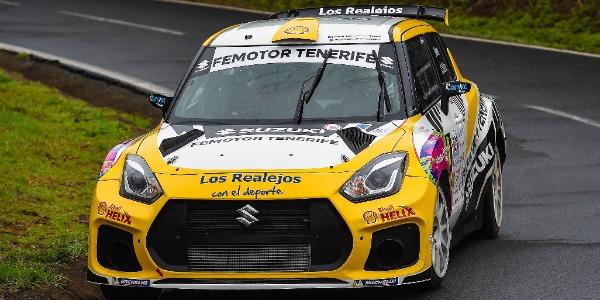 Manuel Mesa estrena copiloto en el Rally Sprint Santiago del Teide
