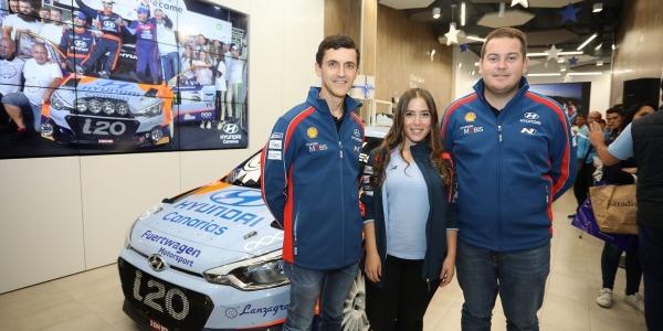 Los Campeones de Canarias, Lemes y Peñate, estuvieron con sus fans