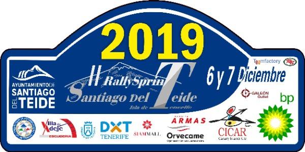 Lista de Inscritos del Rally Sprint Santiago del Teide 2019