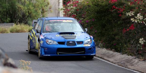 Victoria de Félix Brito en el Rally Sprint Santiago del Teide 2019