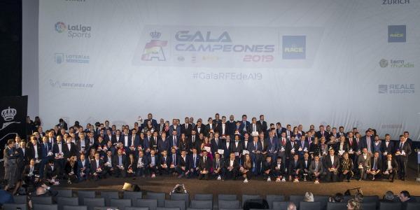 Celebrada la Gala de Campeones RFEdeA 2019