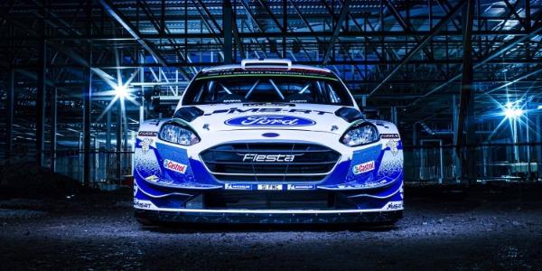 El nuevo diseño del Ford Fiesta WRC 2020 ve la luz