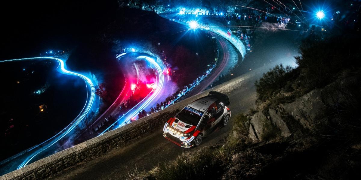 Sebastien Ogier y Julien Ingrassia. Foto: Jaanus Ree/Red Bull Content Pool