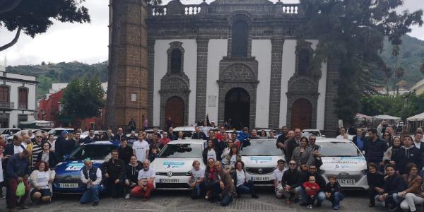 Velfe21 organiza el primer ElectroTour Villa de Candelaria