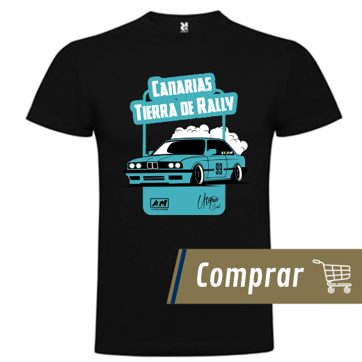 A Todo Motor Store - Camiseta Canarias Tierra de Rally