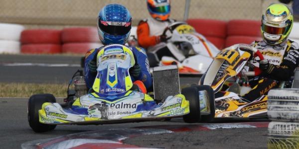 Complicada carrera de Santi Concepción Jr en la Winter Cup internacional