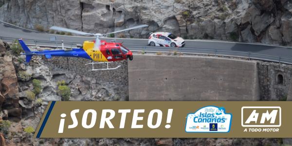 ¡Vive el Rally Islas Canarias en helicóptero!
