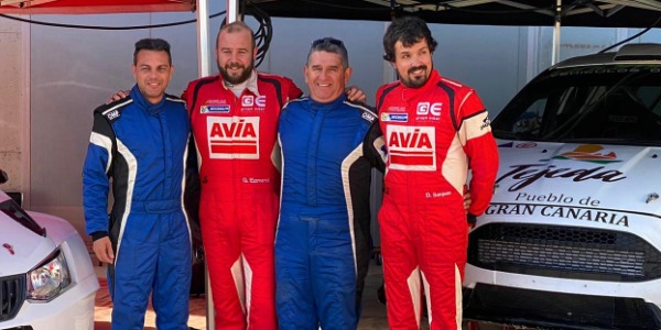 Yeray Mujica, Gorka Eizmendi, JC Quintana y Diego Sanjuan