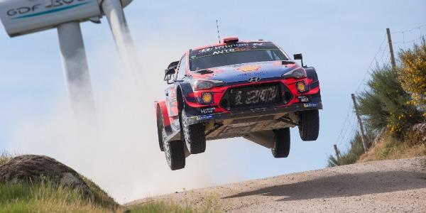 Dani Sordo comienza 2020 en el Rallye Serras de Fafe e Felgueiras