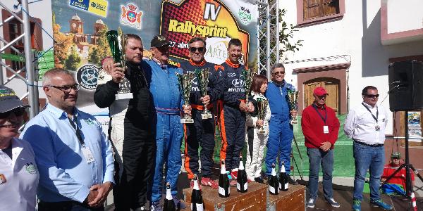 Artenara inaugura en 2020 el Camp. de Canarias de Rally Sprint