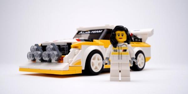 Audi y Lego homenajean a Michele Mouton