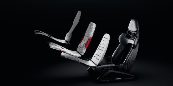 Porsche lleva la impresión 3D a los asientos baquet