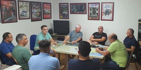 Imagen de archivo de una reunión previa
