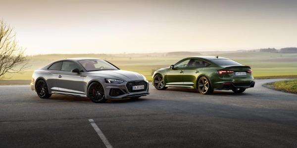 Llegan los nuevos Audi RS 5 versión Coupé y Sportback