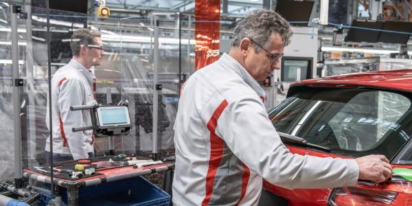 Fábrica de Audi en Europa