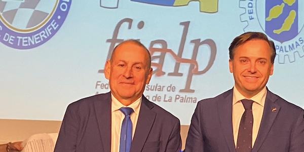 La Federación Canaria participa en la conferencia de presidentes