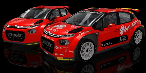 Citroën Rally Team estará en el S-CER virtual