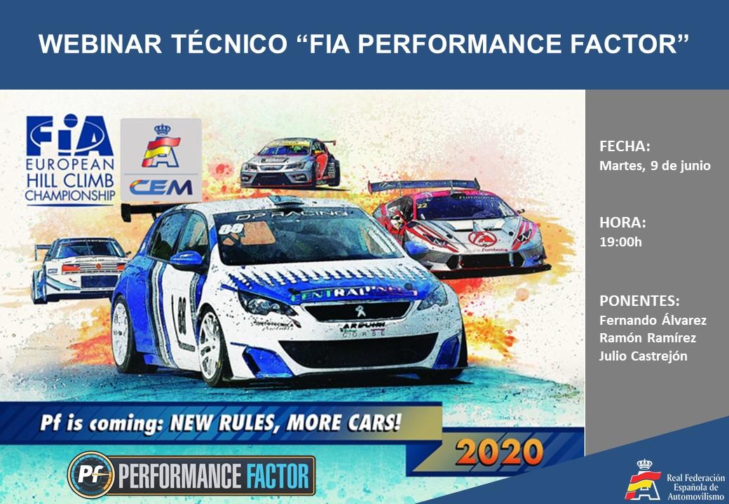 FIA Performance Factor