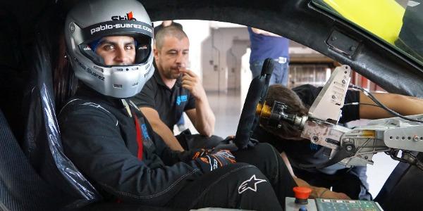 La historia de Pablo Suárez: técnico y piloto de pruebas