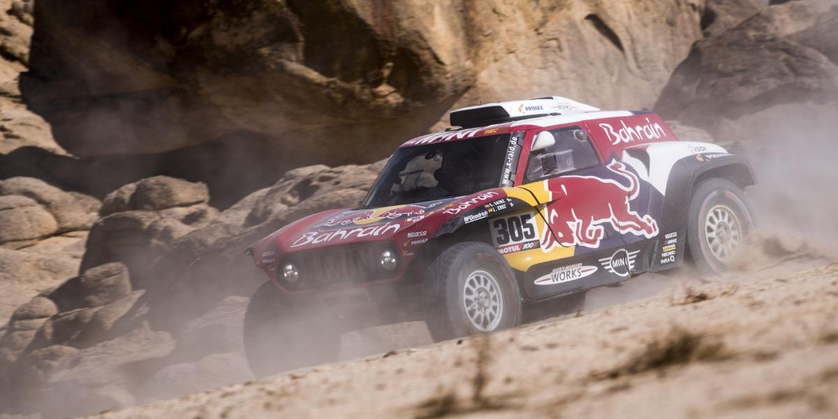 Sainz en el Dakar
