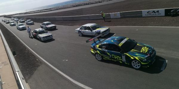 Tests en el Circuito de Maspalomas. Foto: Sheila Martín