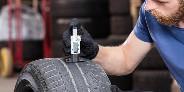 Medir presión de los neumáticos