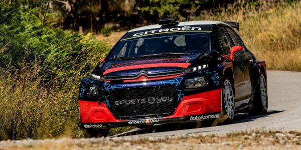 Muy buenas sensaciones de Alberto Monarri con el Citroën C3 R5