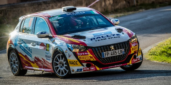 Doble podio para el Rallye Team Spain en Roma
