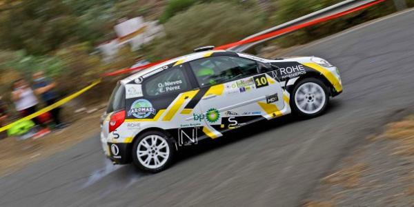 Oliver Nieves y Emilio Pérez a por el Rallye Isla de Gran Canaria