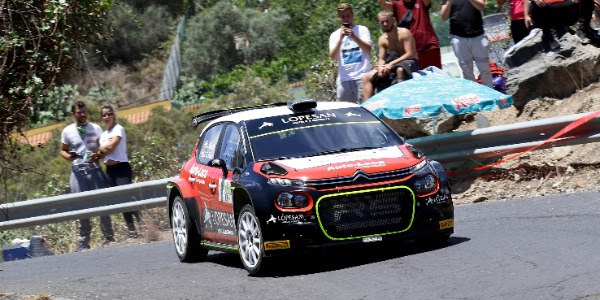 Luis Monzón afronta con dudas el Rally Isla de Gran Canaria
