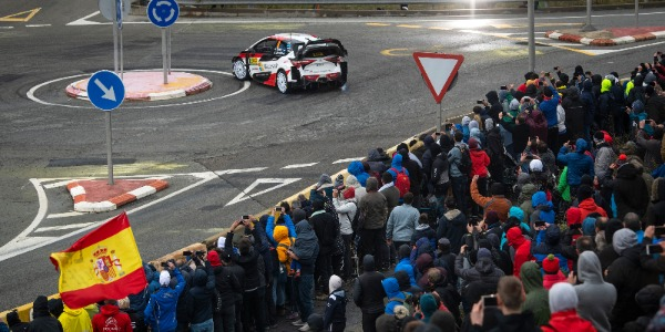 Cancelado el Rally de Cataluña 2020