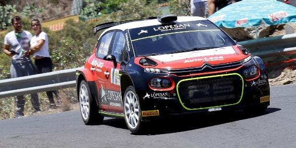 Monzón afronta con dudas el Rally Isla de Gran Canaria