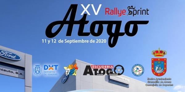 Lista Oficial de Inscritos del Rallye Sprint de Atogo 2020