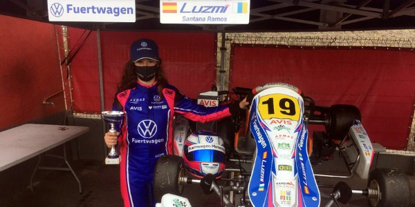 Pole y podium para Luzmi Santana en Tenerife