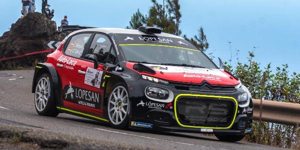 Nuevo podio de Monzón-Déniz en un competido Rally Orvecame Norte