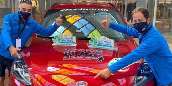 El Ford Kuga el más eficiente del EcoRally Isla de Gran Canaria