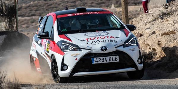 Padaman Sport no pudo terminar el Rallye Isla de Tenerife