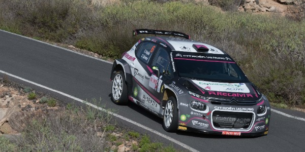 Emma Falcón fue novena en el Rallye Isla de Tenerife