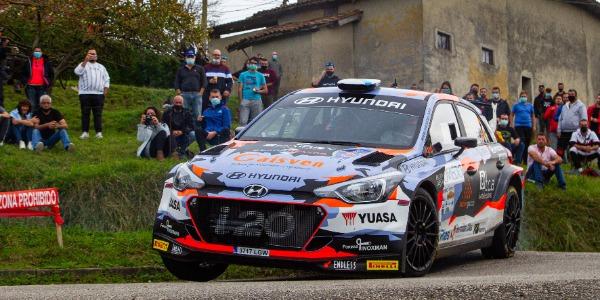Iván Ares quiere pelear por el triunfo en el Rally La Nucía