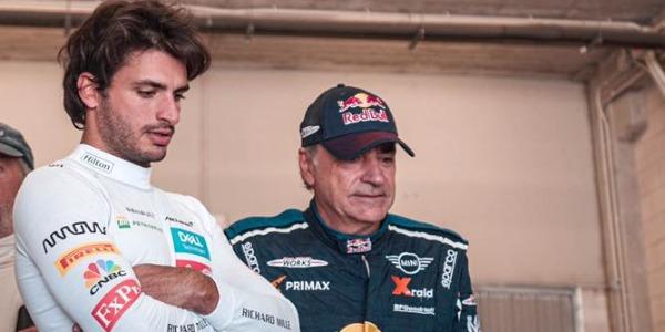 Carlos Sainz Jr. y Carlos Sainz Sr.