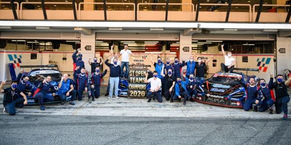 Teo Martín Motorsport arrasa en el International GT Open 2020