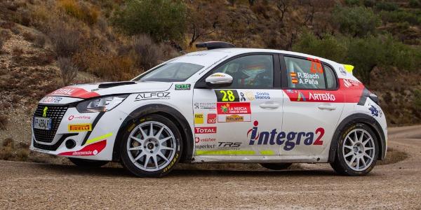 Complicado Rallye La Nucía para Roberto Blach Jr.
